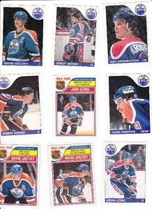 30  1980s Olier Cards 12 Gretzky