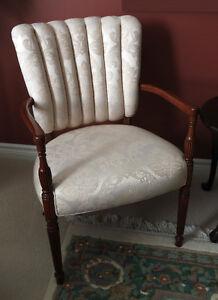 Beige Living Room Armchair
