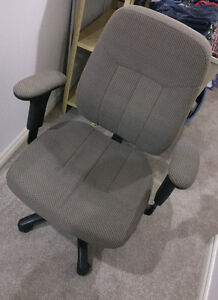 Office chair with various adjustment possibilities, clean