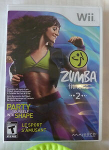 WII Zumba Fitness - NEVER USED