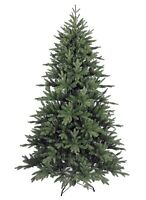 8' Artificial Christmas Tree with lights.