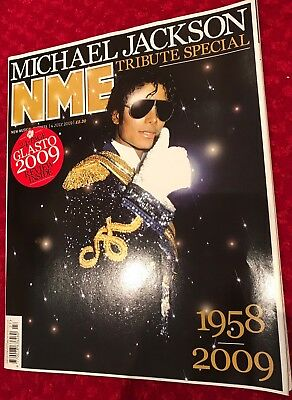 ** MICHAEL JACKSON UK NME TRIBUTE MAGAZINE 2009 - EXCELLENT CONDITION**