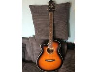 Ashton Electro Acoustic Guitar Left Handed