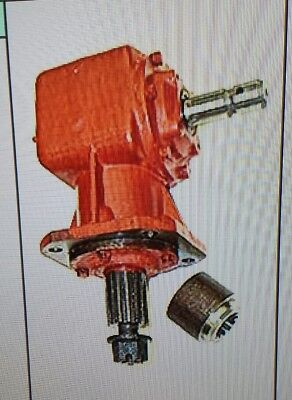 Universal Rotary Cutter 50hp Gearbox 11.93 Ratio