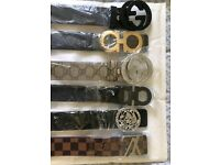 mens womens belts/gucci/lv/armani/versace/ferragamo