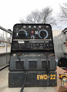 Lincoln Electric Commander 300 Diesel Welding machine welder