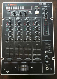 Vestax PMC-280 4 Channel DJ Mixer digital DSP effects sampler