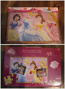 BRAND NEW IN THE PACKAGE DISNEY PRINCESS CORK BOARD PUZZLE