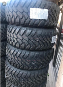 """BRAND NEW M/T TIRES 17"""" 18""""& 20"""" ON SPECIAL !"""