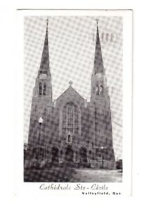 Carte postale Cathédrale Ste-Cécile à Valleyfield.
