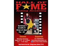 Hall of Fame Acting Academy