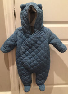 3-6 months Bunting Suit from Baby GAP