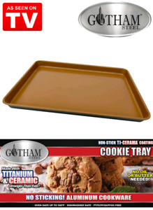 Gotham Steel Cookie Tray set (3)