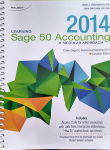 Sage 50 Accounting Textbook Fanshawe College
