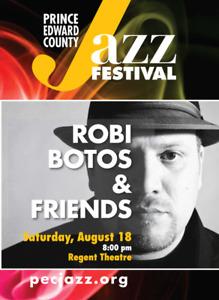 Robi Botos Tickets  Regent Theatre Picton Aug 18-18  8.00 pm