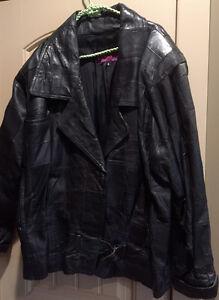 Jacket Leather Ladies Black