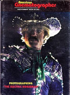 AMERICAN CINEMATOGRAPHER October 1979 - MOONRAKER, THE ELECTRIC HORSEMAN