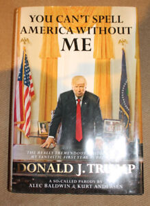 Hardcover: You Can't Spell America Without Me (Trump)