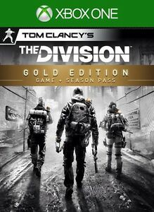 Tom Clancy's The Division Gold Edition (Sealed)