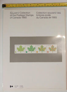 Collection Canada 1980 (timbres/stamps)