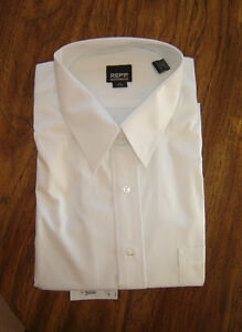 "Mr. Big and Tall Short Slvd Shirt - 18"" neck (3XL?) - **NEW**"