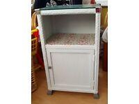 Upcycled Loom weave cabinet (vintage)