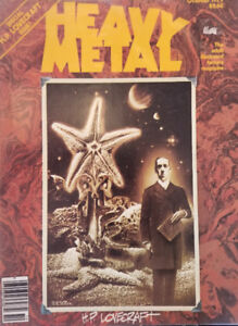 Heavy Metal Illustrated Magazine