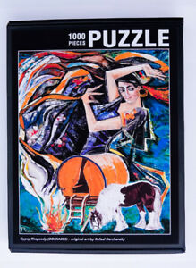 1000 Piece Jigsaw Puzzle 20x28 in. Based on original painting