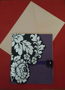 Handmade Gothic Card For Sale
