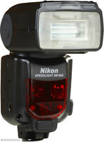Nikon SB-900 Flash. LIKE NEW!!