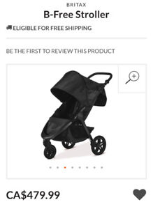 Britax B-Free stroller brand new with tags