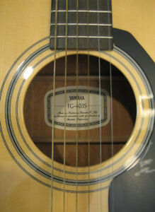 Yamaha FG403 Acoustic Guitar North Shore Greater Vancouver Area image 3