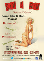 Sin & Gin Soiree Cabaret - Some Like It Hot, Mama!