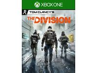 "Tom Clancy's ""The division"" Xbox one"