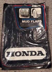 Honda Vintage Mud Flaps - New Old Stock