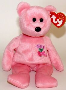 Mum the Mother's Day Bear Ty Beanie Baby stuffed animal