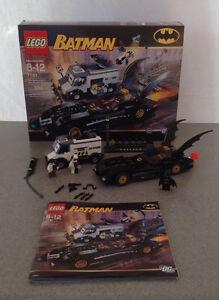 Lego 7781 Batman Batmobile two-face escape