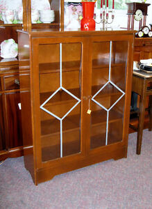 DISPLAY CABINETS, SHELVING
