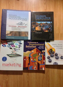 Selling the Following for the Summer 2016 Textbooks: