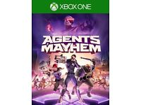 WANTED Agents of Mayhem Xbox One game