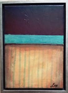 Eve Shpritser, peinture sur toile acrylique