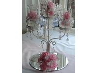 Jewels Wedding venue decoration centrepieces