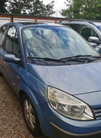 Renault Scenic 2006 mot Jan 2022 spares and repair