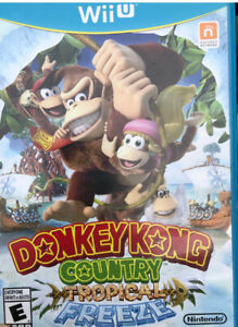 WiiU - Donkey Kong Country Tropical Freeze $40