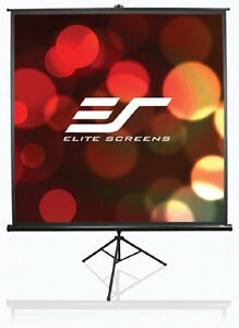Elite Screens T99NWS1 Tripod Pro Series Projector Screen - 1-1 -