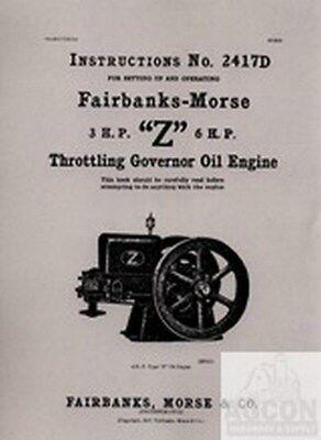 Fairbanks Morse Z 3 6 Hp Hit Miss Engine Manual