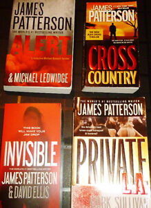☂ James Patterson - 4 Paperbacks Available