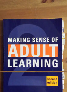 Making Sense of Adult Learning 2nd Ed 080203778X