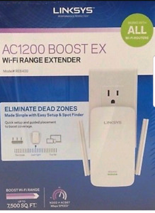New and Sealed - Linksys AC1200 Boost EX WiFi Range Extender
