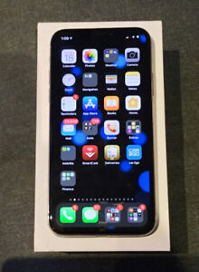 iPhone X - silver - 256gb + spigen and a battery case+applecare+
